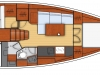 oceanis 38 - 2C 1T side galley