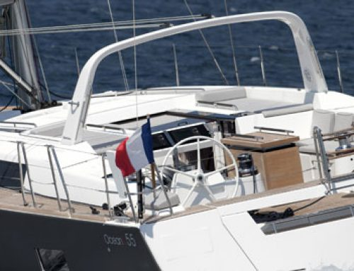 Oceanis 55 Wins Best Sailboat in Show Award in Vancouver