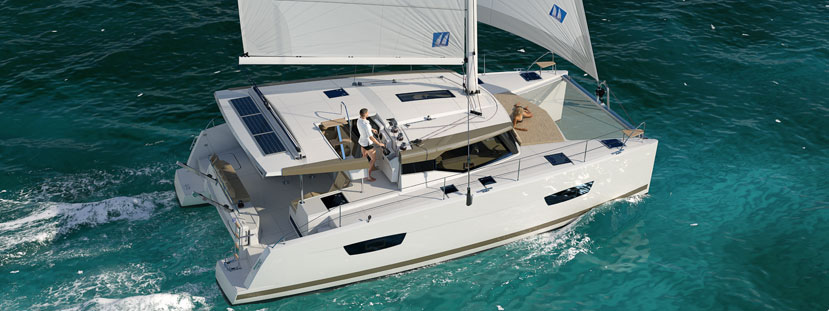Representing Fountaine Pajot Sailing cats